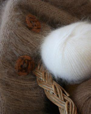 Mohair og Silke tørklæder